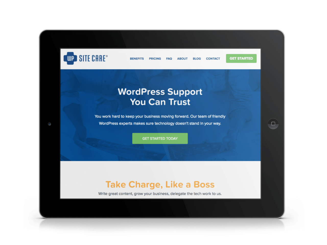 WP Site Care | WordPress Support Plans | Southern Web