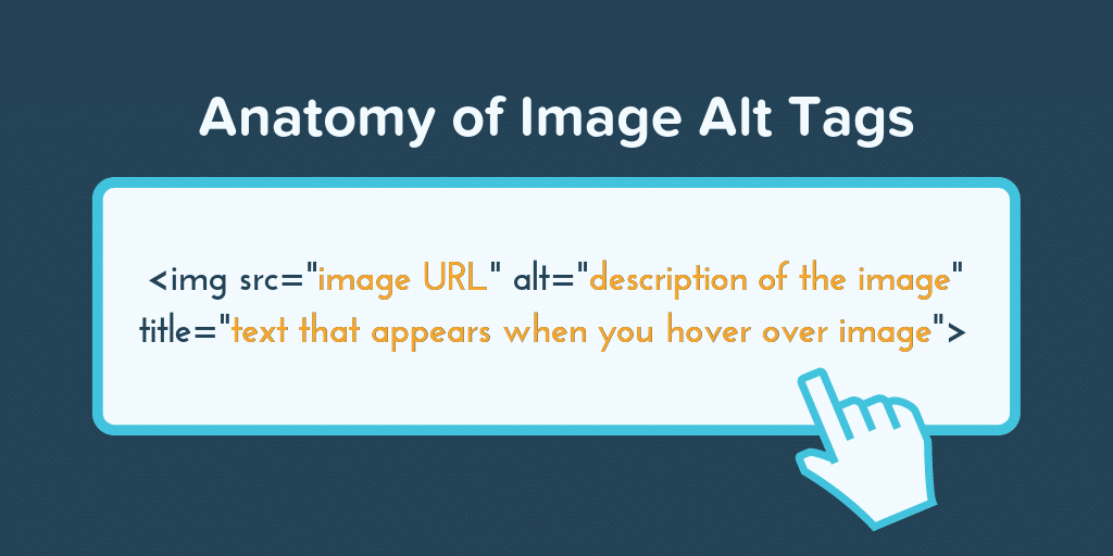 Anatomy of an alt tag: